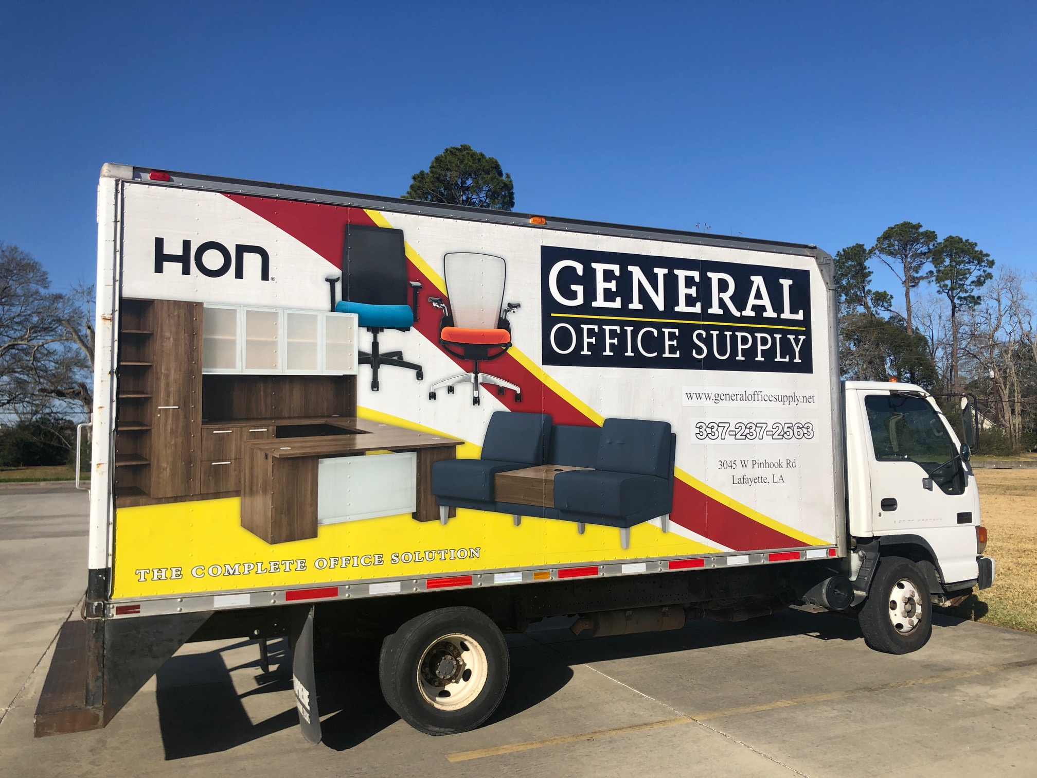 Fast & Friendly Delivery - GOS - General Office Supply